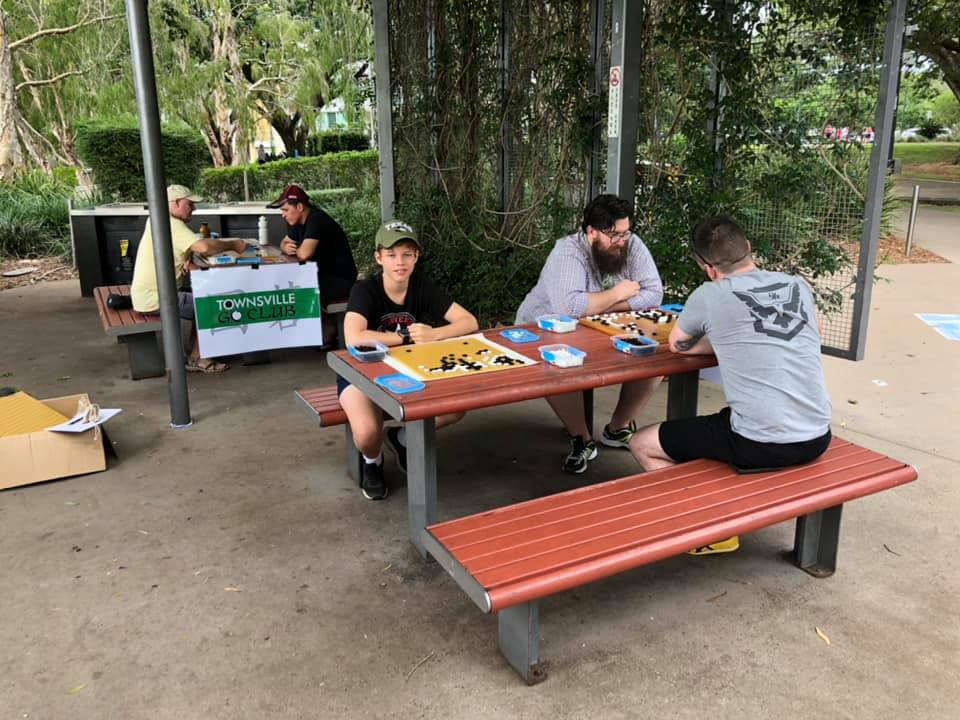 townsville go club meeting full of players